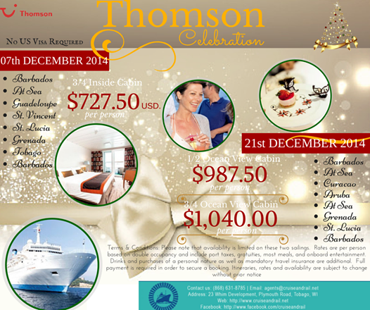 Thomson Cruises Deal -Barbados